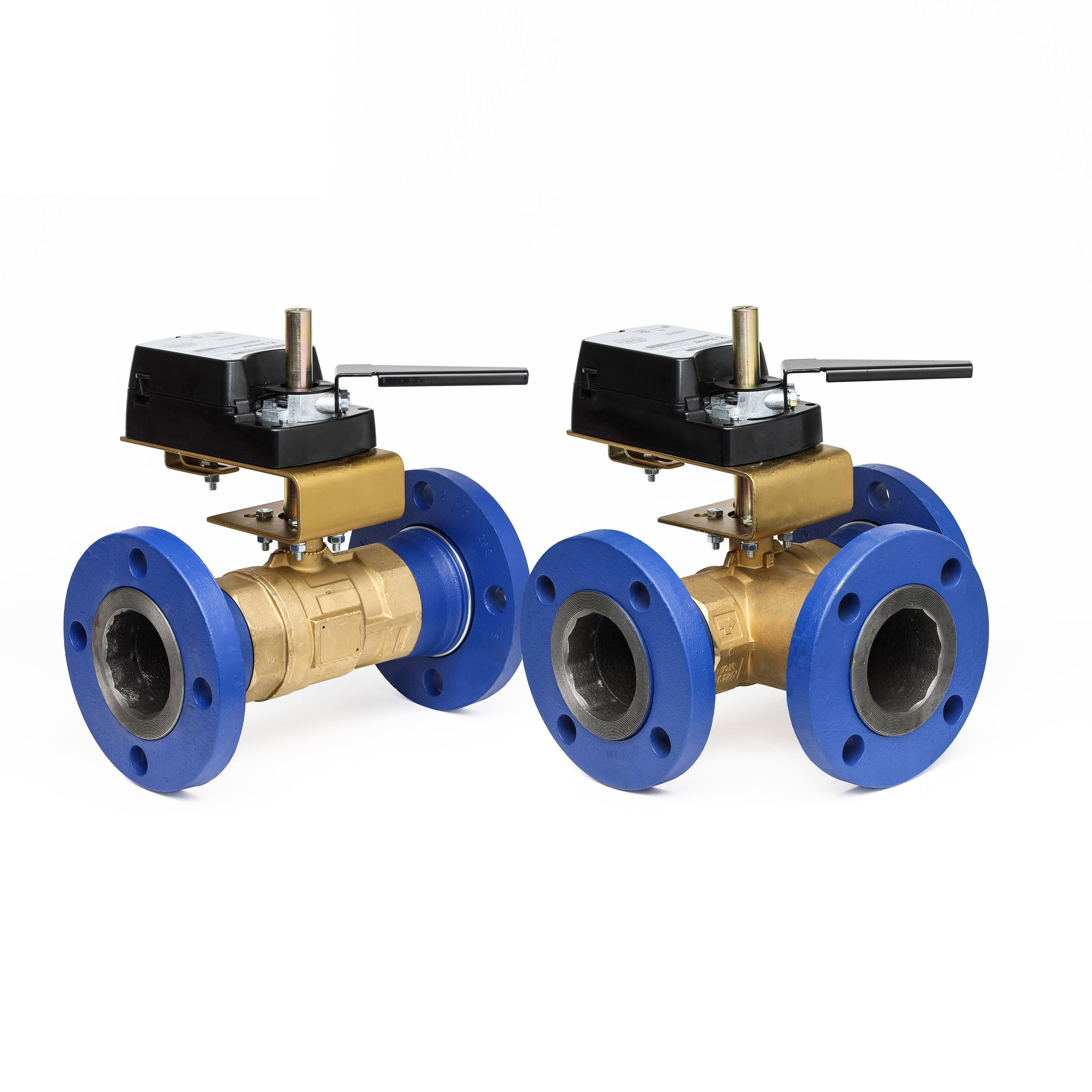 STM Characterized Flanged Ball Valves - Bray Commercial Division