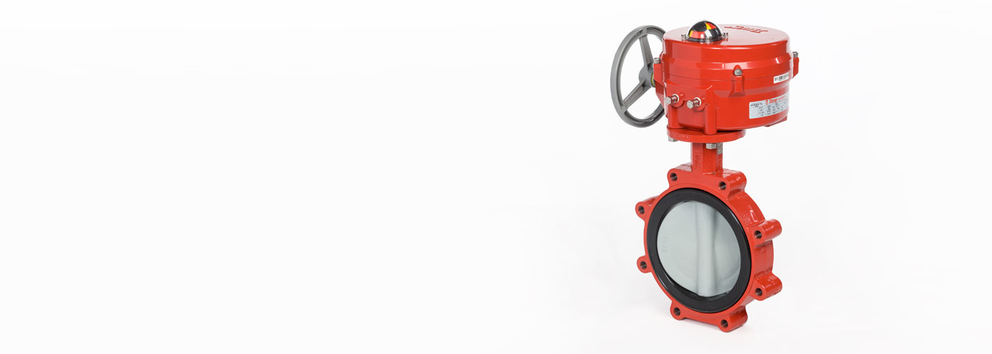 NY/AB Series Resilient Seated Butterfly Valves